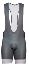 Load image into Gallery viewer, Men's Urban Gray Bib Shorts