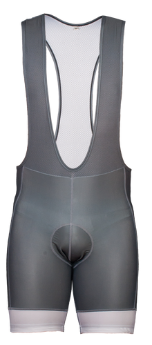 Men's Urban Gray Bib Shorts