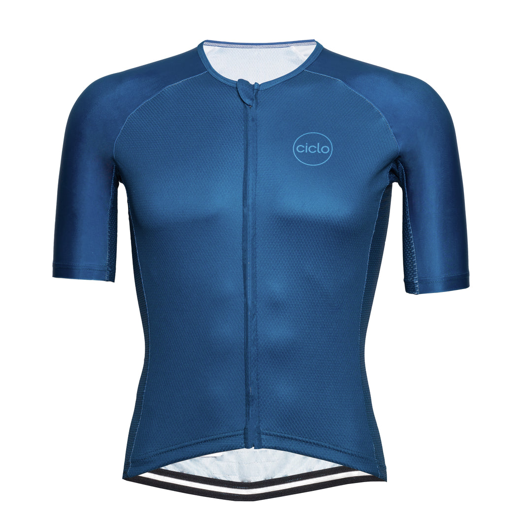 Ciclo Men's Cerulean AeroBasics Cycling Jersey