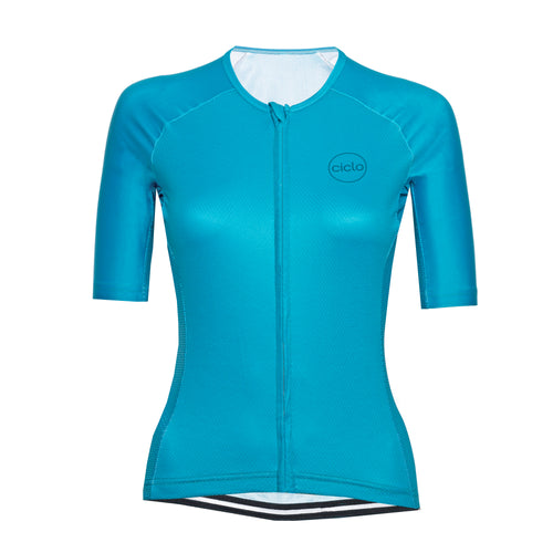 Women's Teal Endurance Jersey