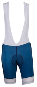 Women's Glider Blue Bib Shorts