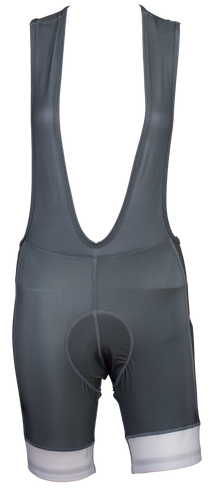 Women's Urban Gray Bib Shorts