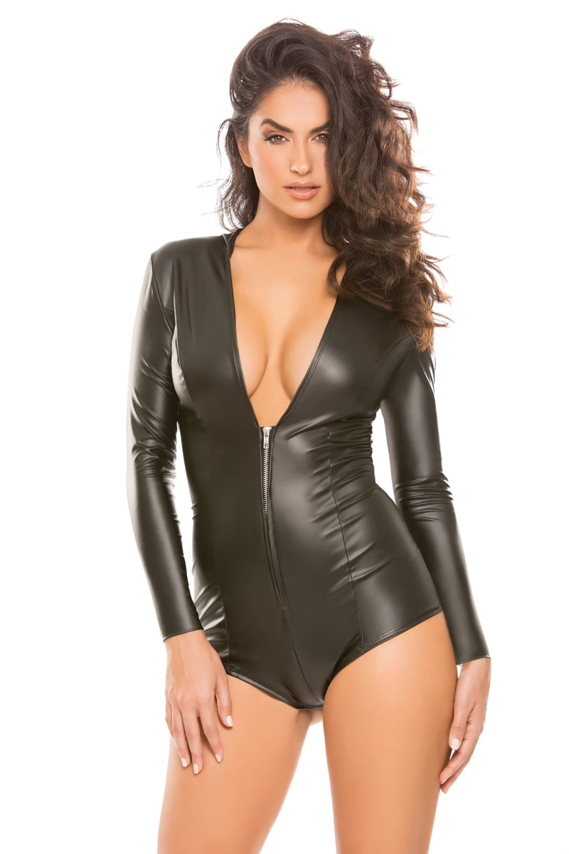 Skin Tight Hooded Jumper