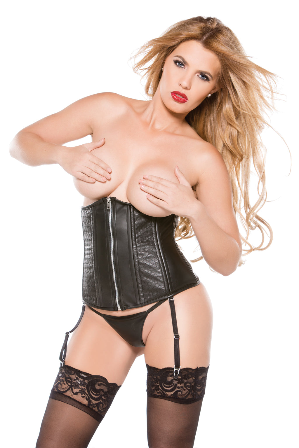 Faux Leather Cincher