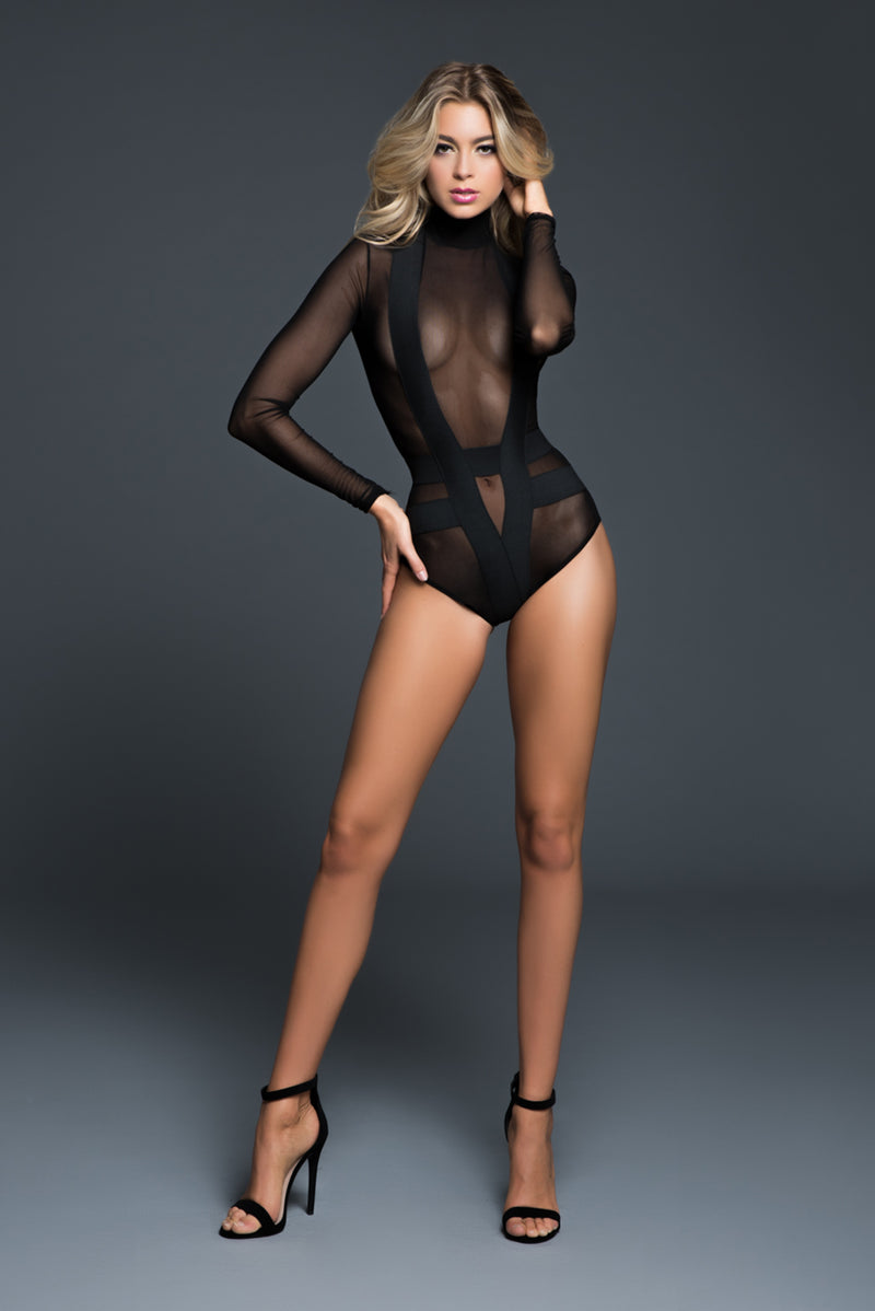 seductively sheer & cheeky body