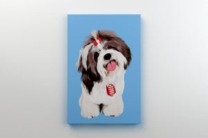 Custom Pet Canvas - Wrapped