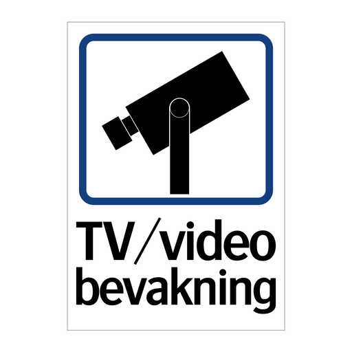 TV/Video bevakning I & TV/Video bevakning I & TV/Video bevakning I & TV/Video bevakning I