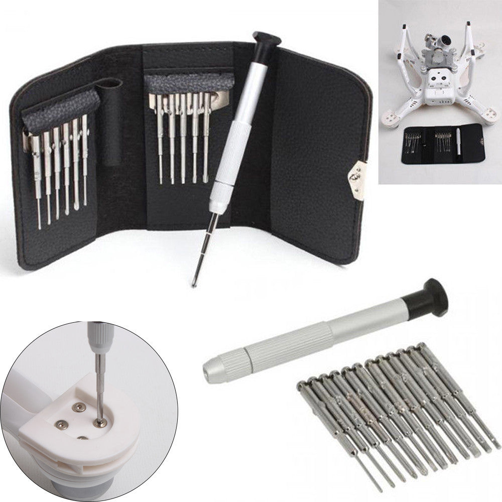 13pcs/Set Screwdriver Repair Tools Kit + Bag for DJI Phantom 3/4 Mavic Pro Drone