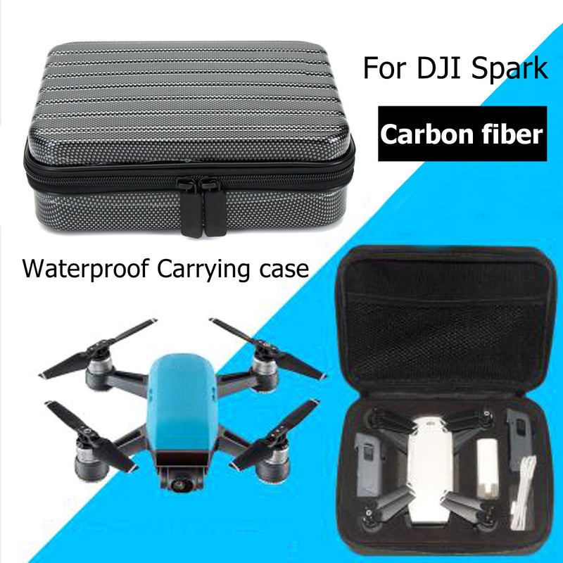 Waterproof Portable Handheld Carry Case Suitcase Storage Bag For DJI Spark Drone