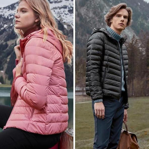 Ultra-Light Packable Down Jacket for MEN and WOMEN (60% Discount)