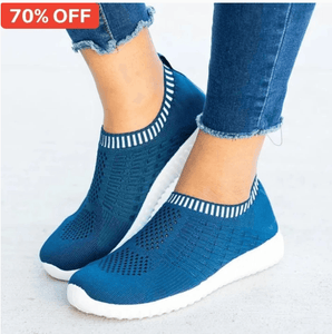 Breathable Mesh Casual Walking Sneakers