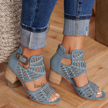 Load image into Gallery viewer, DAHOOD Summer Sandal with Heel