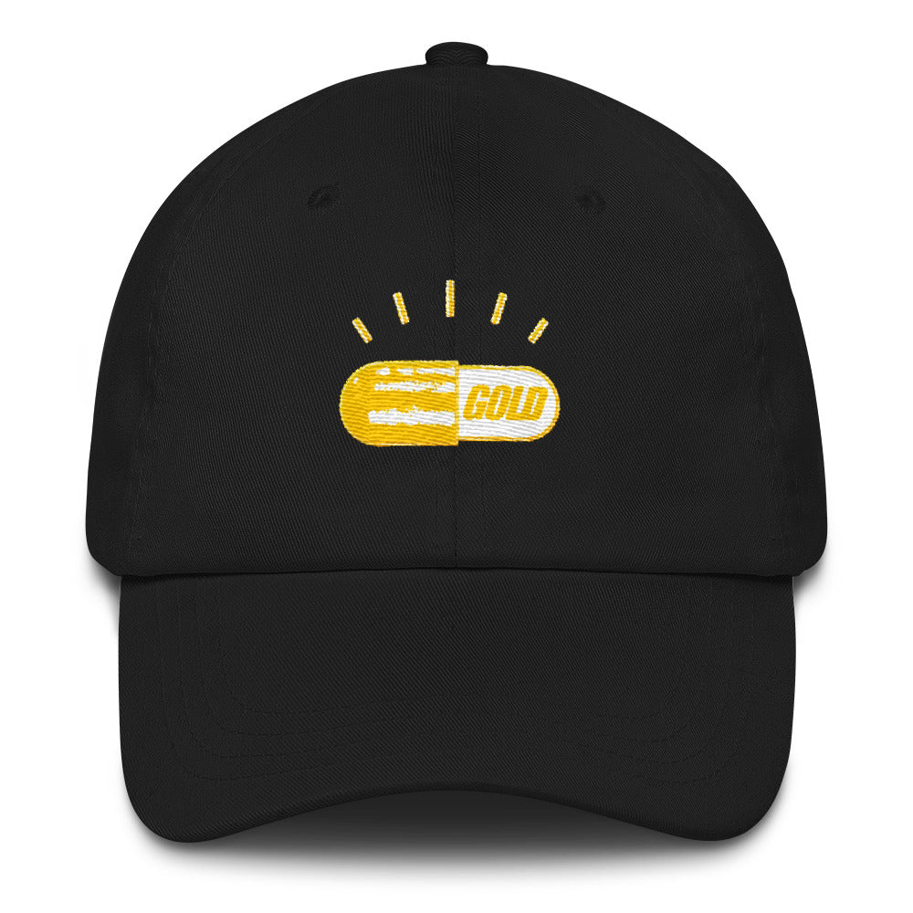 GOLD PILL | DAD HAT