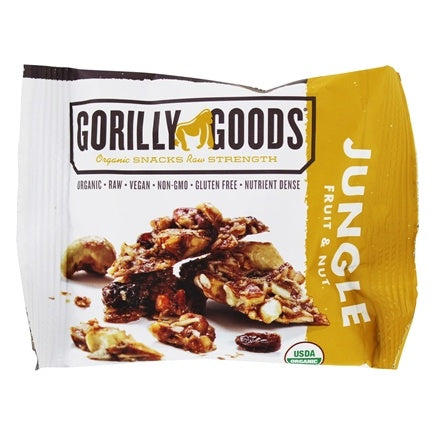 Gorilly Goods Organic Raw Vegan Trail Mix Individual Snack Packs