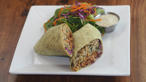 Ginger Chicken Wrap