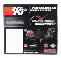 K&N Air Intake for 2009 to 2019 Dodge Ram with 5.7 Hemi