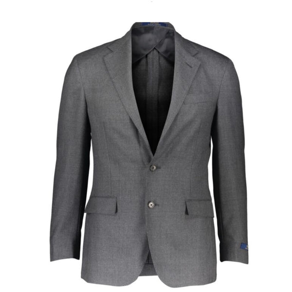 Ralph Lauren Light Grey 2 Piece Wool Suit
