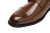 Brown Monk Strap Shoe