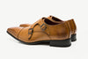 Tan Monk Strap Formal Men's Shoe