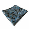 Blue and Black Paisley