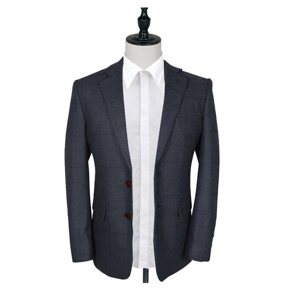 Peaky Grey Estate Herringbone Tweed 2 Piece Suit