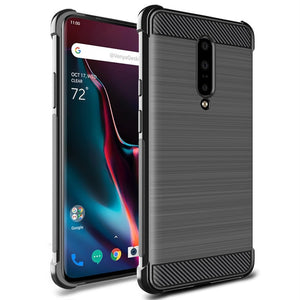Oneplus 6 - 7T Transparent Silicone Back Cover Phone Case