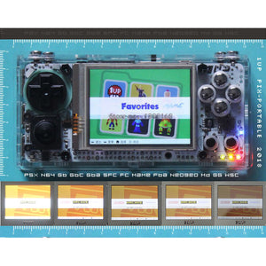 Gameberry Retro Pie Lakka Raspberry Pi 2.8 Inch Handheld Gaming Device Retro Game Module HD Screen 4000mA Battery