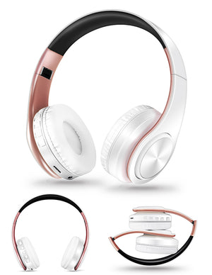 HIFI Stereo Bluetooth Headphone FM And Support SD Card With Mic