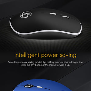 iMice Wireless Mouse Silent Computer Mouse 2.4Ghz 1600 DPI Ergonomic Noiseless For Laptop
