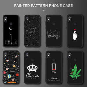 Silicone TPU Phone Case For Xiaomi Redmi Note 6 5 Pro 7 6A 5A S2 GO Space Pattern Painted Case