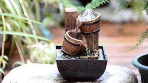 Resin Crafts Feng Shui Home Decor Water Fountains
