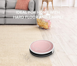 ILIFE V7s Plus Robot Vacuum Cleaner Sweep & Wet Mop Simultaneously For Hard Floors & Carpet Run 120 Mins Before Automatically Charge