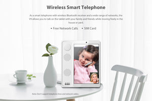 Poptel Wireless Smart Telephone 8 Inch 2G/16G Bluetooth Handset