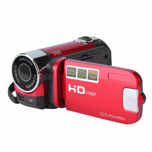 Mini Portable 2.7 Inch Digital Video Camera Camcorder TFT LCD Screen Full HD 720P 16x Zoom DV Camera CMOS Video Recoding