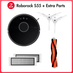 Roborock S50 S55 Xiaomi Vacuum Cleaner 2 For Home Smart Cleaning Wet Mopping Carpet Dust Sweeping Mi Robot Wireless APP
