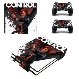 Game Control PS4 Pro Skin Sticker For Sony PlayStation 4 Console & Controllers PS4 Pro Skin Stickers Decal Vinyl