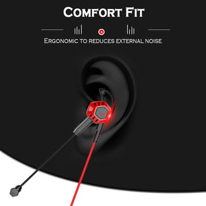 G100X PC Gaming Headset Earphone Headphone With Microphone Volume Control Stereo Noise Cancelling For Phone Xbox Gamer PS4