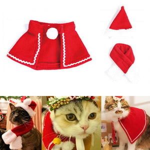 Cat Holiday Christmas Party Clothes/Costume