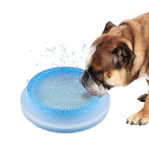 "8"" Pet Frosty Chilled Water Bowls (16oz FDA Proved for Dog or Cat)"