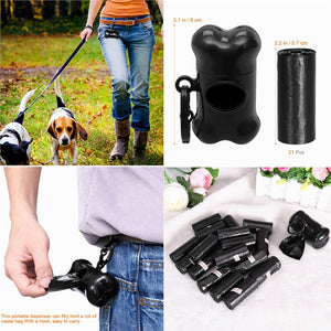 Waist Bag Pet Waste Poop Cleanup kit for Dogs