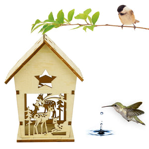 DIY Wood Nesting Bird House