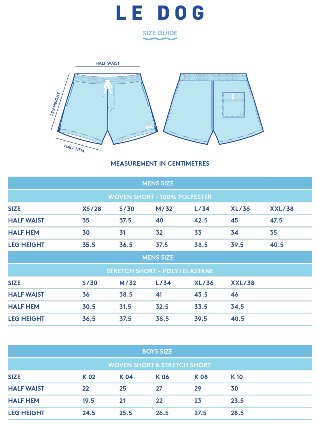 Fit Guide Shorts