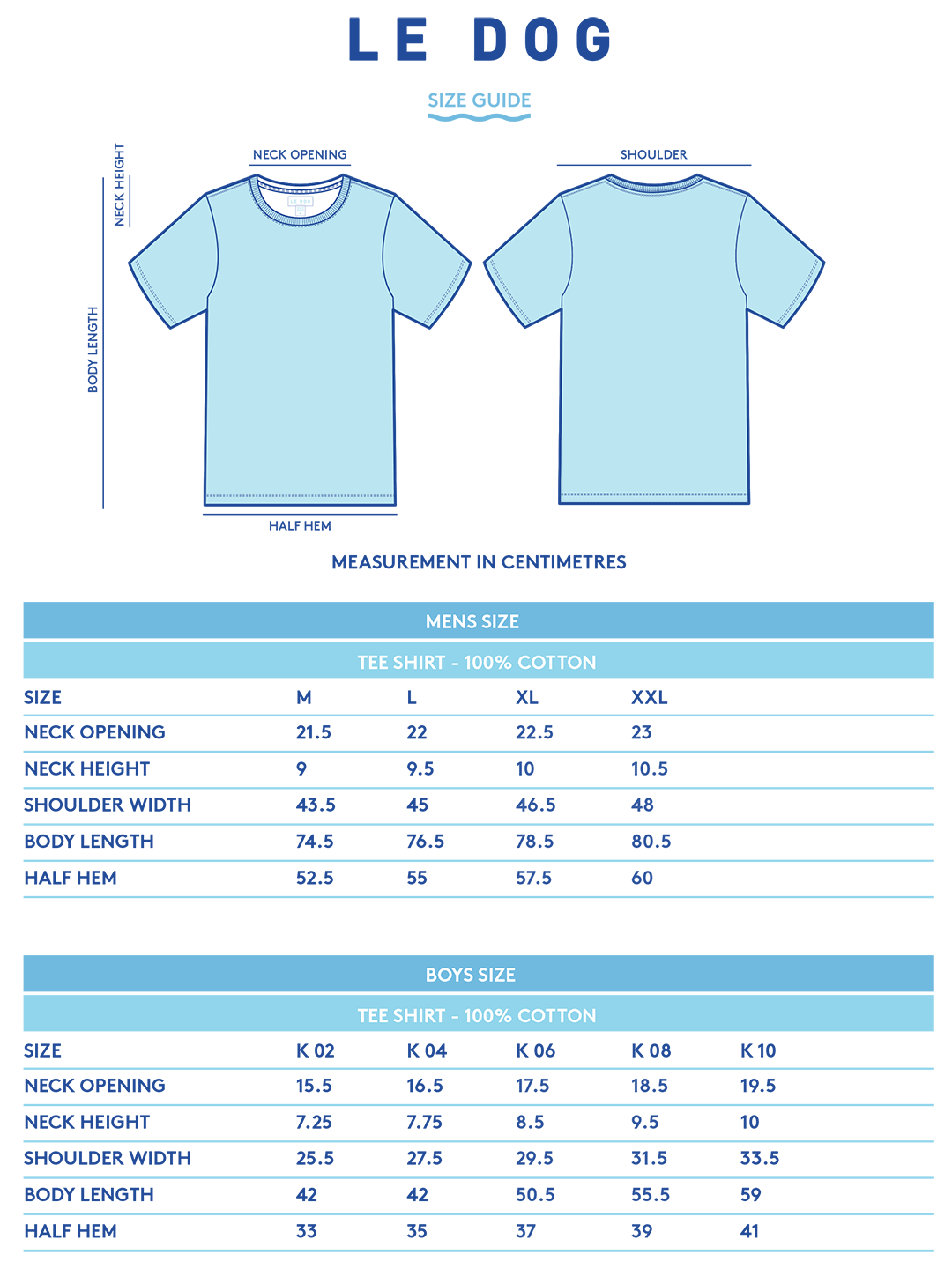 Fit Guide Tee