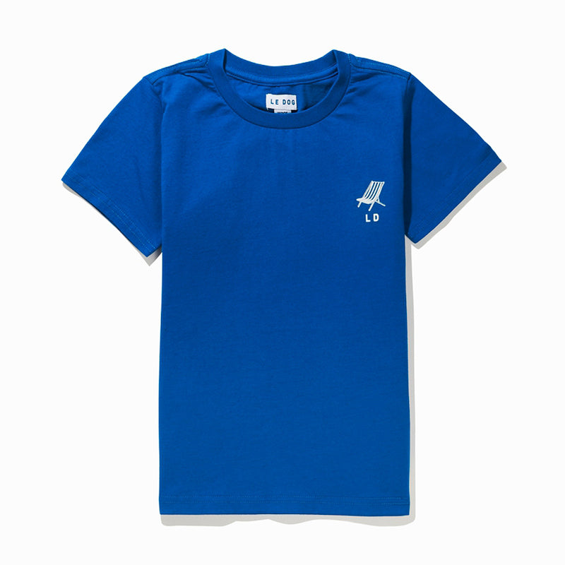 Le Blue Beach Club Kids Tee