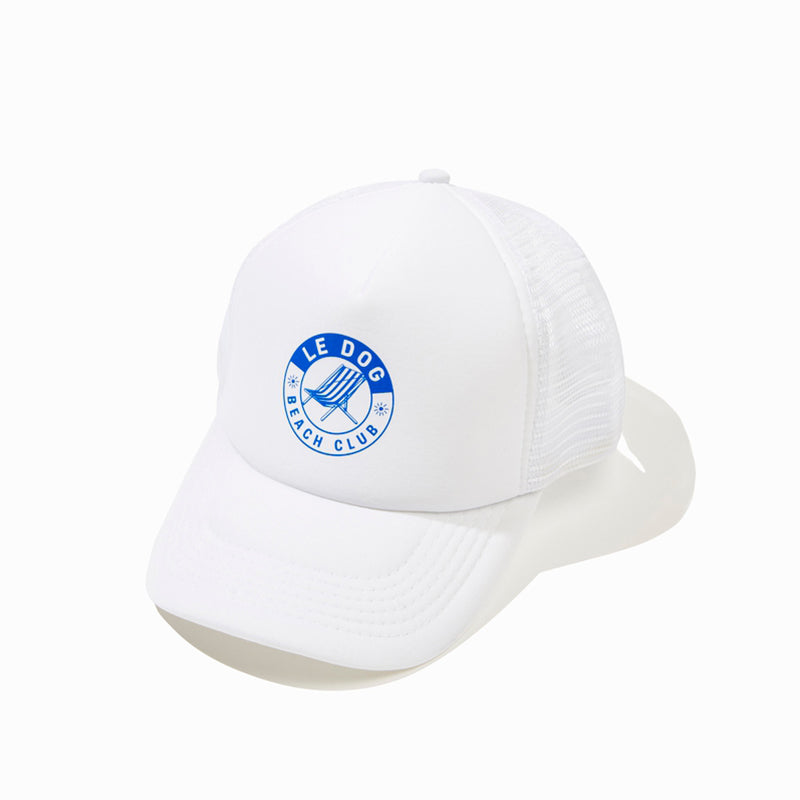 Le Dog Beach Club Cap White
