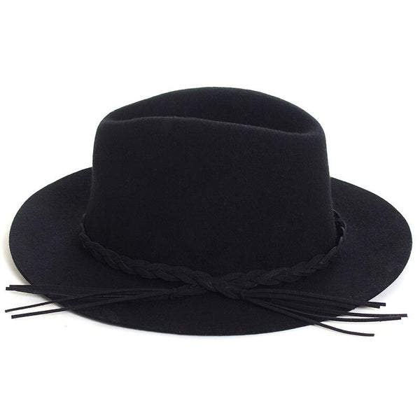 New wool hats Classic fedora Jazz