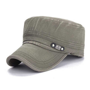 Adjustable Caps Army Plain Vintage Hat