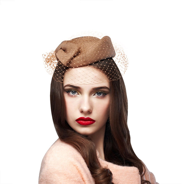 Cute Bow Woman Cocktail Hat