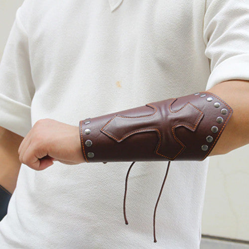 Wide Leather Bracelet