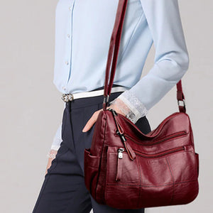 Women Luxury Leather Handbags -  Big Tote Bag